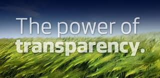 Discovering the power of transparency