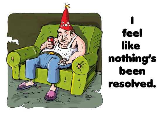 OH NO!  IT'S NEW YEAR RESOLUTION TIME!!!