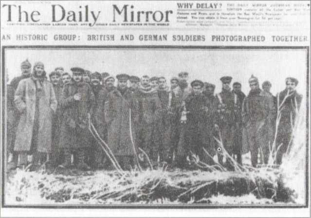 London Daily Mirror Christmas Truce full size